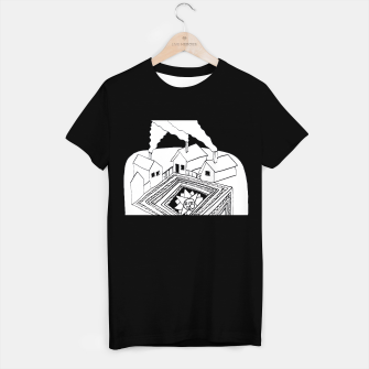 Thumbnail image of The Sun rests in the small Main Square of the Village T-shirt regular, Live Heroes