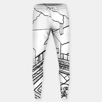 Thumbnail image of The Sun rests in the small Main Square of the Village Sweatpants, Live Heroes
