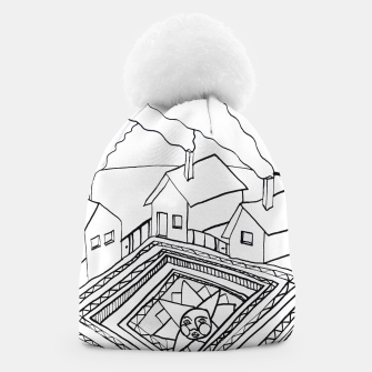 Thumbnail image of The Sun rests in the small Main Square of the Village Beanie, Live Heroes
