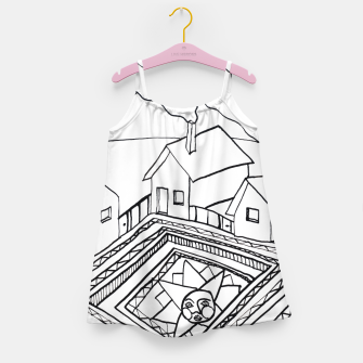 Thumbnail image of The Sun rests in the small Main Square of the Village Girl's dress, Live Heroes