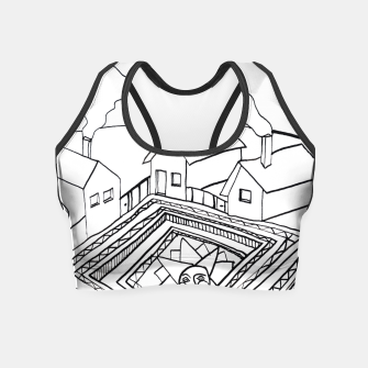 Thumbnail image of The Sun rests in the small Main Square of the Village Crop Top, Live Heroes