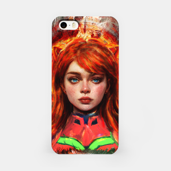 Thumbnail image of asuka evangelion iPhone Case, Live Heroes