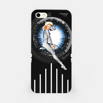 Thumbnail image of Sitting Pretty With Tech by Xzendor7 iPhone Case, Live Heroes