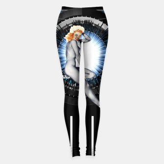 Thumbnail image of Sitting Pretty With Tech by Xzendor7 Leggings, Live Heroes