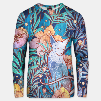 Thumbnail image of Sphynx and willow bloom Unisex sweater, Live Heroes