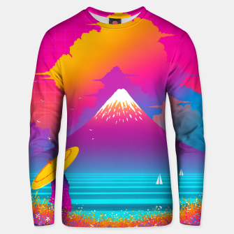 Thumbnail image of Cyber Fuji Unisex sweater, Live Heroes