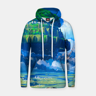 Thumbnail image of Castle in the sky Hoodie, Live Heroes