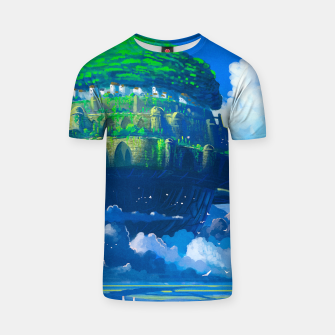 Thumbnail image of Castle in the sky T-shirt, Live Heroes