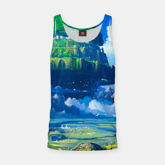 Thumbnail image of Castle in the sky Tank Top, Live Heroes
