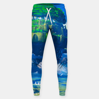 Thumbnail image of Castle in the sky Sweatpants, Live Heroes