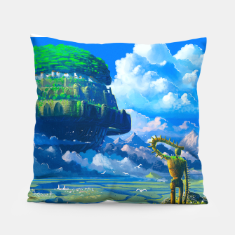 Thumbnail image of Castle in the sky Pillow, Live Heroes