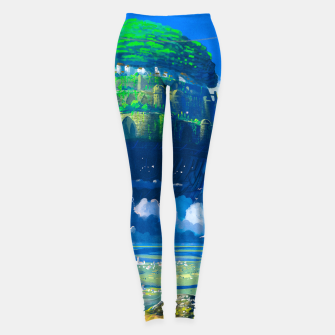 Thumbnail image of Castle in the sky Leggings, Live Heroes