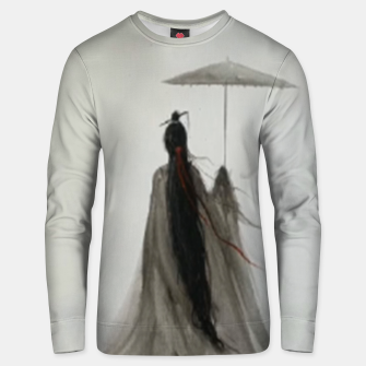 Thumbnail image of No return date Unisex sweater, Live Heroes