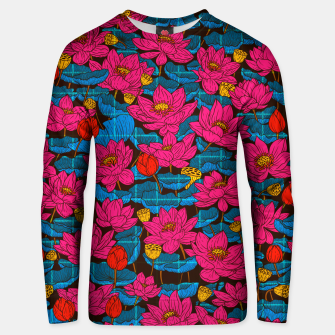 Thumbnail image of Cyber Lotus Unisex sweater, Live Heroes
