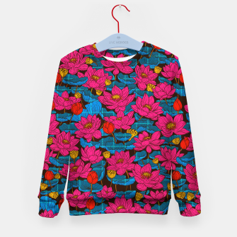 Thumbnail image of Cyber Lotus Kid's sweater, Live Heroes