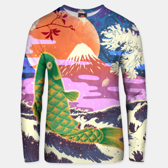 Thumbnail image of Cyber Koi Unisex sweater, Live Heroes