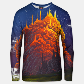 Thumbnail image of Clouds kingdom Unisex sweater, Live Heroes