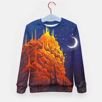Thumbnail image of Clouds kingdom Kid's sweater, Live Heroes