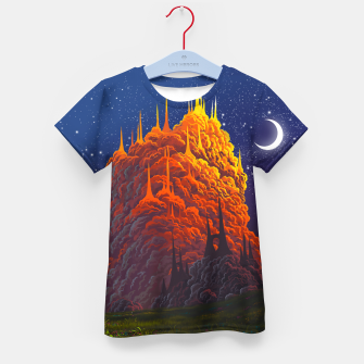 Thumbnail image of Clouds kingdom Kid's t-shirt, Live Heroes