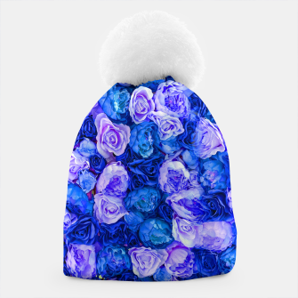 Thumbnail image of Neo blue roses Beanie, Live Heroes