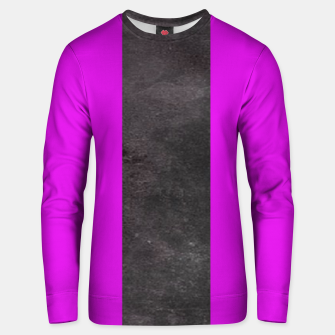 Thumbnail image of Purple and black stripes Unisex sweater, Live Heroes