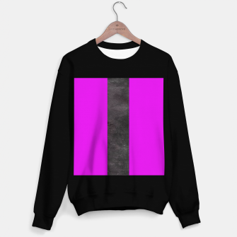 Thumbnail image of Purple and black stripes Sweater regular, Live Heroes