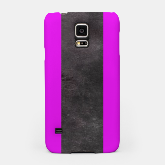 Thumbnail image of Purple and black stripes Samsung Case, Live Heroes
