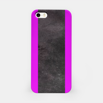 Thumbnail image of Purple and black stripes iPhone Case, Live Heroes
