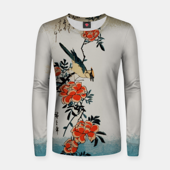 Thumbnail image of Oriole and wild rose Women sweater, Live Heroes