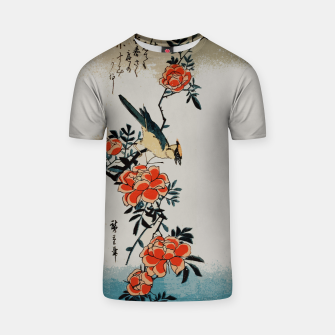 Thumbnail image of Oriole and wild rose T-shirt, Live Heroes
