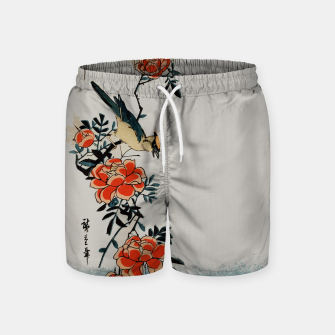 Thumbnail image of Oriole and wild rose Swim Shorts, Live Heroes