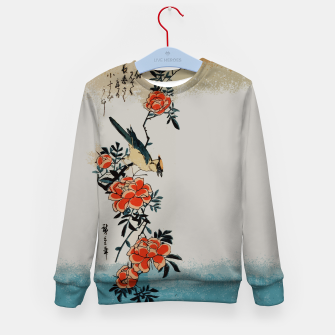 Thumbnail image of Oriole and wild rose Kid's sweater, Live Heroes
