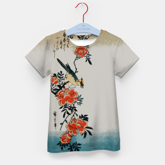 Thumbnail image of Oriole and wild rose Kid's t-shirt, Live Heroes