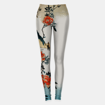 Thumbnail image of Oriole and wild rose Leggings, Live Heroes