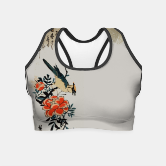 Thumbnail image of Oriole and wild rose Crop Top, Live Heroes