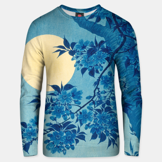 Thumbnail image of Blossoming cherry Unisex sweater, Live Heroes