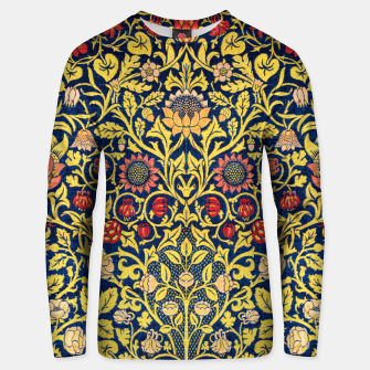 Thumbnail image of Violet and columbine Unisex sweater, Live Heroes