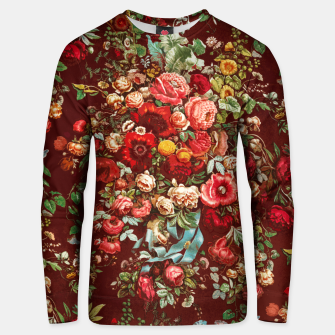 Thumbnail image of Colorful floral Unisex sweater, Live Heroes