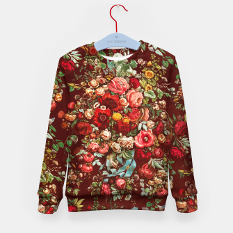 Miniatur Colorful floral Kid's sweater, Live Heroes