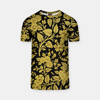 Thumbnail image of Golden flowers T-shirt, Live Heroes