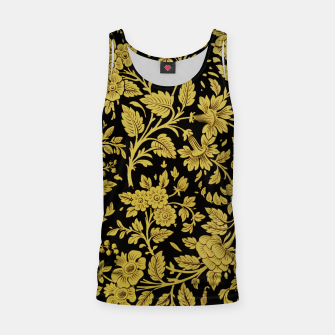 Thumbnail image of Golden flowers Tank Top, Live Heroes