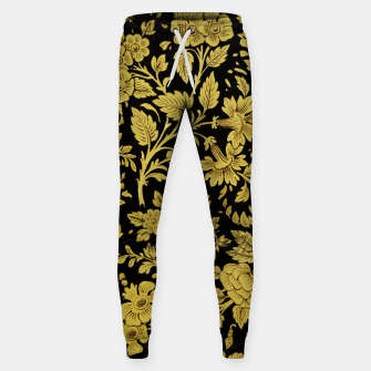Thumbnail image of Golden flowers Sweatpants, Live Heroes