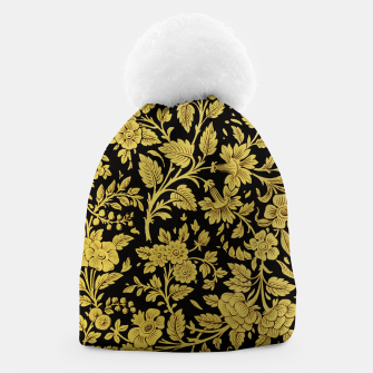 Thumbnail image of Golden flowers Beanie, Live Heroes