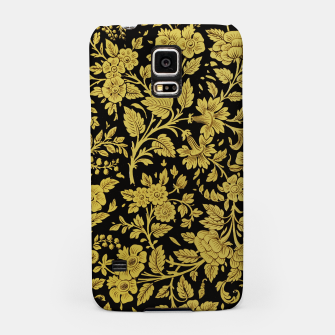 Thumbnail image of Golden flowers Samsung Case, Live Heroes