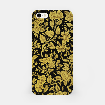 Thumbnail image of Golden flowers iPhone Case, Live Heroes