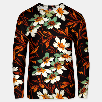 Thumbnail image of Ornamental flowers Unisex sweater, Live Heroes