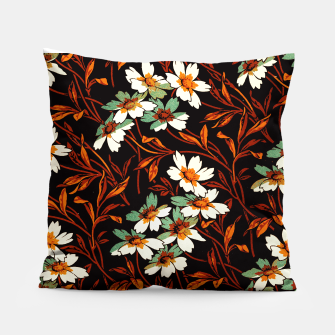 Thumbnail image of Ornamental flowers Pillow, Live Heroes