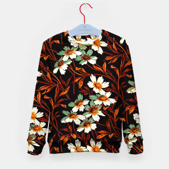 Thumbnail image of Ornamental flowers Kid's sweater, Live Heroes