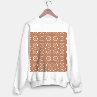 Thumbnail image of Patterned circles on brown Sweater regular, Live Heroes