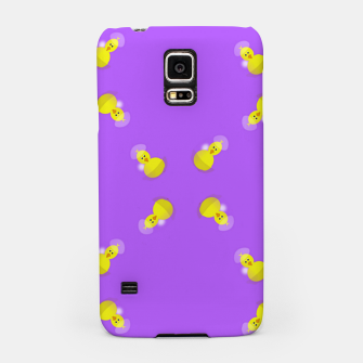 Thumbnail image of Yellow chicks on purple Samsung Case, Live Heroes